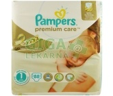 PAMPERS Premium Care 1 Newborn 88ks