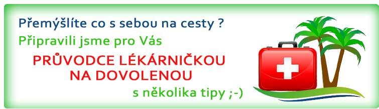 GigaLékárna.cz - Lékárnička na dovolenou
