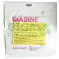 Inadine 9,5x9,5cm 5ks jódový sterilní