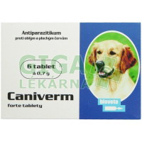 Caniverm forte tablety 6x700mg
