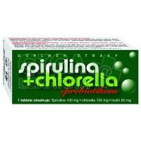 Spirulina + Chlorella + Prebiotikum Naturvita 90 tablet