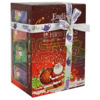 Čaje Christmas Tea Collection pyram.4druhy po 3ks Santa