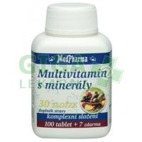 MedPharma Multivitamín s minerály 107 tablet