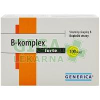 B-komplex forte Generica 100 tablet