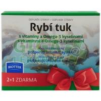 Biotter Rybí tuk s vitam.a Omega-3 kysel.cps.3x60