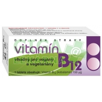 Vitamín B12 60 tablet Naturvita