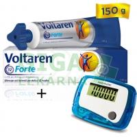 AKČNÍ SET: Voltaren Forte gel 150g + krokoměr