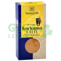 Kurkuma Latte-zázvor bio 60g krabička (Pikantní kořeněná směs) SONNENTOR