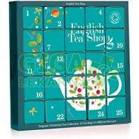 ENGLISH TEA SHOP Adventní kalendář Modrý 25 pyramidek