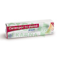 Canespor 1x denně krém 15gm 1%