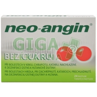 Neo-Angin bez cukru 24 tablet