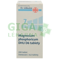 Magnesium phosphoricum DHU 200 tablet D6 (No.7)