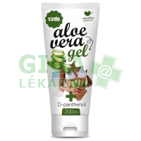 Aloe vera gel s D-panthenolem VIRDE 200ml