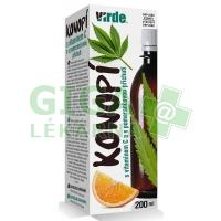 Virde Konopí s vitamínem C s pomerančovou příchutí 200ml