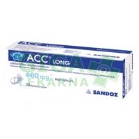 ACC Long šumivé tablety 10x600mg