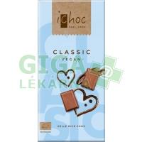Bio vegan čokoláda classic iChoc 80g