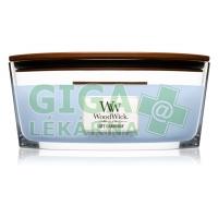 WoodWick Soft Chambray 453,6 g vonná svíčka loďka