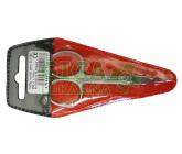 Nůžky na kůži zahnuté 90mm SI-18Z