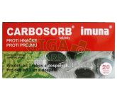 Carbosorb tbl.20x320mg-blistr