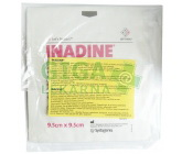 Inadine 9.5x9.5cm/5ks jódový steril.