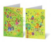 Přání UNICEF Veselé Velikonoce 5x2ks