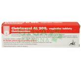 Clotrimazol AL 200 tbl.vag.3x200mg+apl.