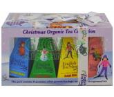 Obrázek Čaje Christmas Tea Collection pyram.4druhy po 3ks Lyžaři