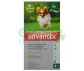 Advantix pro psy spot.on.do 4kg a.u.v.4x0.4ml