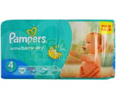 PAMPERS Active Baby VPP 4 Maxi 9-14kg 58ks