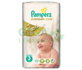 PAMPERS Premium Care Midi 4-9kg 60ks