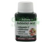 MedPharma Jablečný ocet+vlák.+vit.C+chrom tbl.37