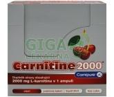 CARNITINE 2000 višeň ampule 20x25ml