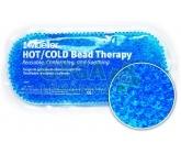 Chladivý/hřejivý polštářek gelové kuličky modrý