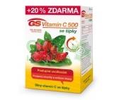 GS Vitamin C500+šípky tbl.100+20 2016