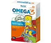 The Simpsons Omega 3+vitaminy D a E cps.60