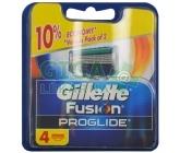 Gillette Fusion ProGlide náhradní hlavice 4 ks