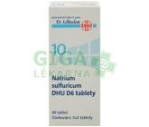 No.10 Natrium sulfuricum DHU 80 tablet D5-D30