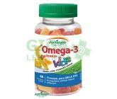 JAMIESON Omega-3 Kids Gummies želatin.pastil.60ks