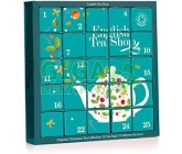 English Tea XMAS 25ks advent kalendář modrý BIO