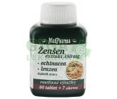 MedPharma Žen-šen+echinacea+leuzea cps.67
