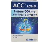 ACC Long instant 600mg por.plv.scc. 10