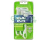 Gillette Blue3 SenseCare holítka 3 ks