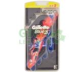Gillette Blue3 Barcelona holítka 6+2 ks
