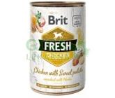 Brit Dog Fresh konz. Chicken with Sweet Potato 400g