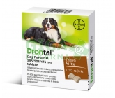Drontal Dog Flavour XL 525/504/175mg tbl.2