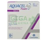 Aquacel foam Ag adhesivní 10x10cm 10ks