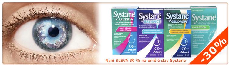 GigaLékáreň.sk - Sleva 30 % na umělé slzy Systane