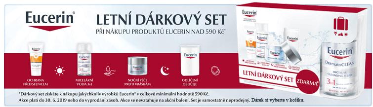 GigaLékáreň.sk - Letní dárkový set Eucerin k nákupu nad 590 Kč