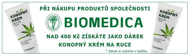 GigaLékáreň.sk - Biomedica konopný krém k nákupu zdarma