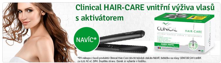 GigaLékáreň.sk - Clinical-Hair + žehlička na vlasy
